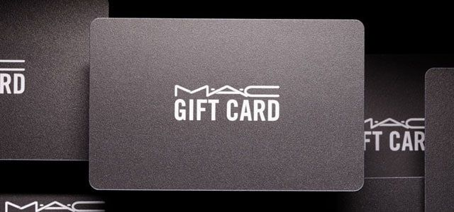 Gift Cards | MAC Cosmetics - Official Site | 25th birthday ...