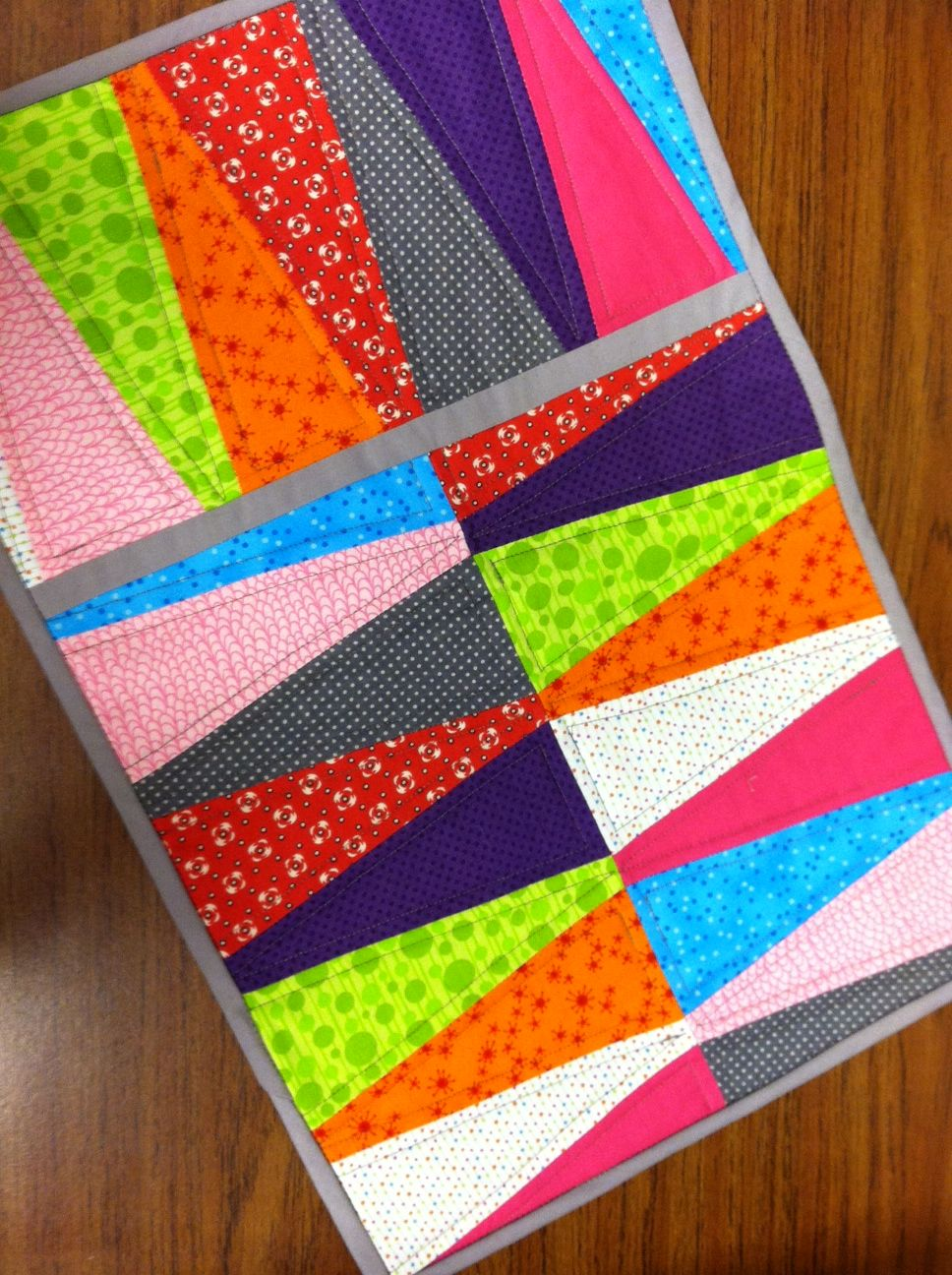Quilting 201 class at Jo-Ann | Sew a colorful placemat at ...