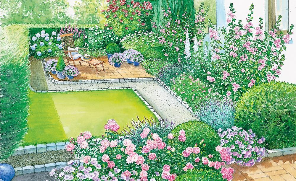 Grünes Paradies am Haus | Creative Gardening | Pinterest | Kiesweg ...