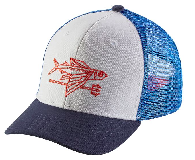 Patagonia Kids  - Trucker Hat - Geodesic Flying Fish  559c4feb04f