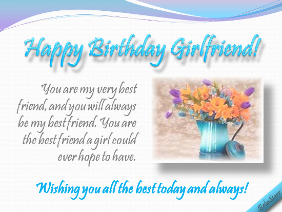 A birthday ecard for your girlfriend your best friend see all my a birthday ecard for your girlfriend your best friend see all my ecards at m4hsunfo Image collections