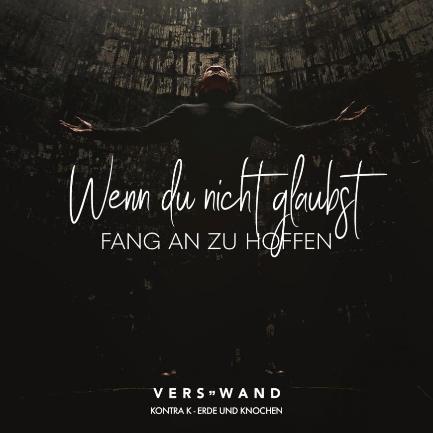 Wenn Du Nicht Glaubst Fang An Zu Hoffen Kontra K Erde Und Knochen Visual Statements Kontra K Zitate Rap Zitate Rap Zitate Deutsch