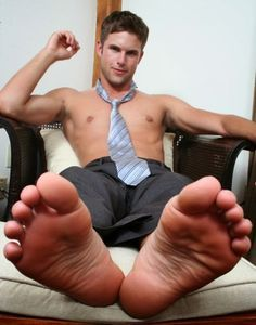 Male foot worship videos