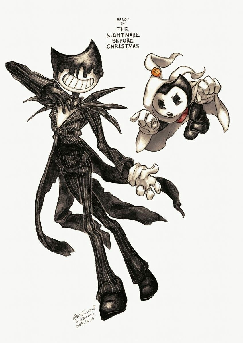 Omg I Love This Sooo Muchh With Images Bendy And The Ink