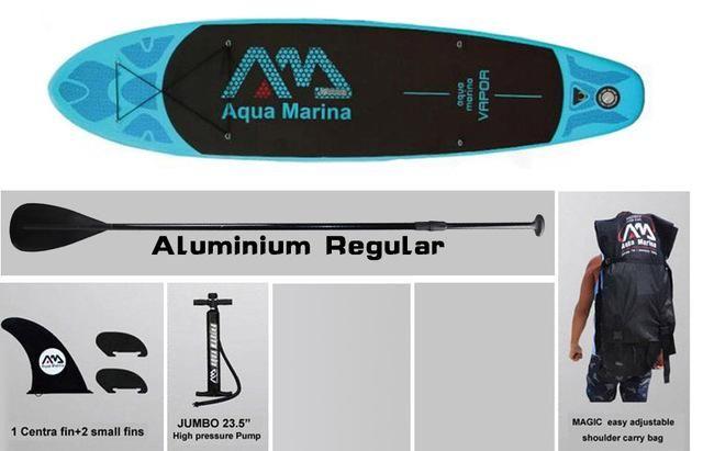 Aqua Marina 11 Feet Vapor Inflatable Paddle Board Lures Fishing Surf Outdoorgear Golfing Beach Outdo Aqua Marina Inflatable Paddle Board Standup Paddle