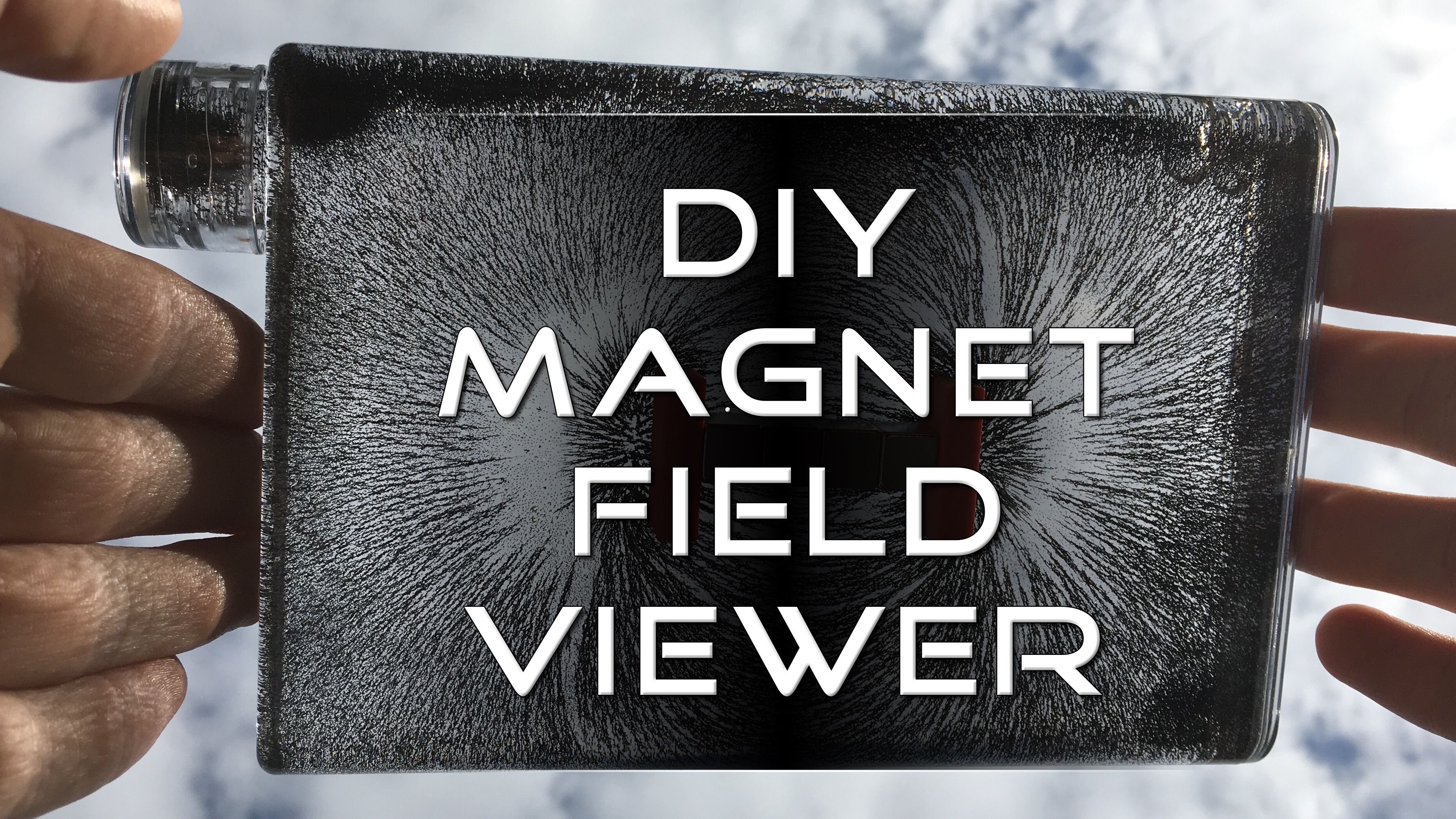 Diy Magnetic Field Viewer Easy Homemade Way To Visualize