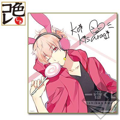 一番くじ倶楽部 一番くじ ツキウタ f賞 如月恋 色紙 かわいいアニメの少年 如月恋 男の子 イラスト