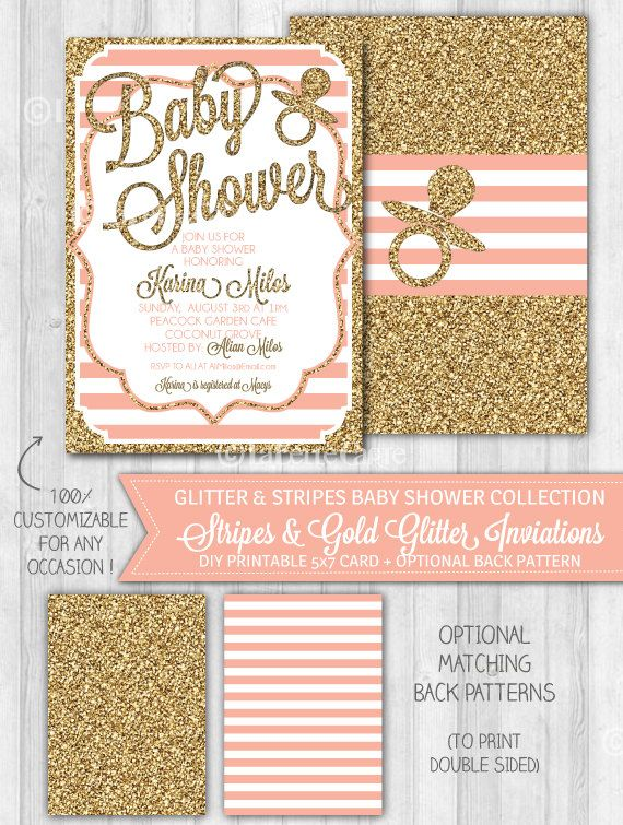 glitter glitter baby showers pink baby showers invitations baby