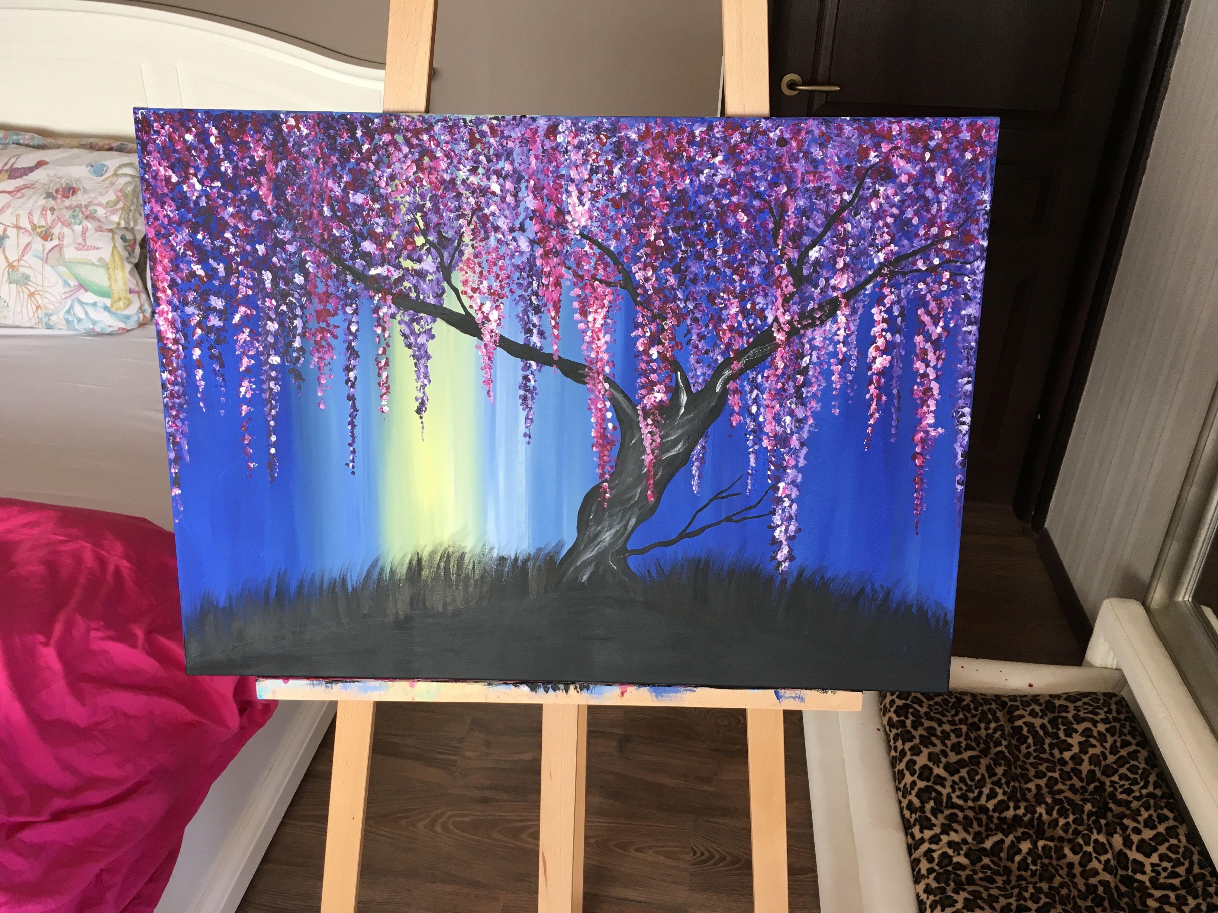 #Amazing #Amazingview #Paradiseisland #Canvas #Tree #Paint #Painting #Cascadeofcolours