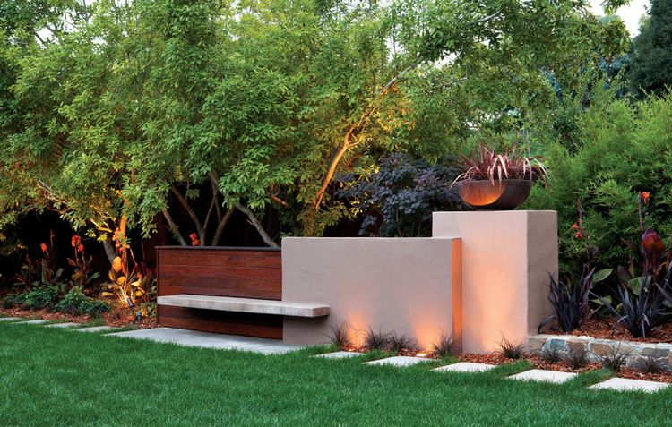 Strong Sculptural Geometry By Arterra Landscape Architects
