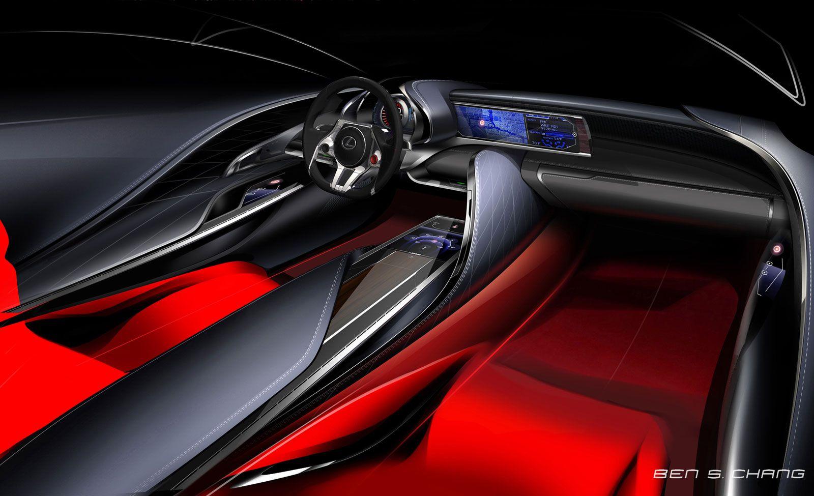 Lexus LF LC Concept Interior