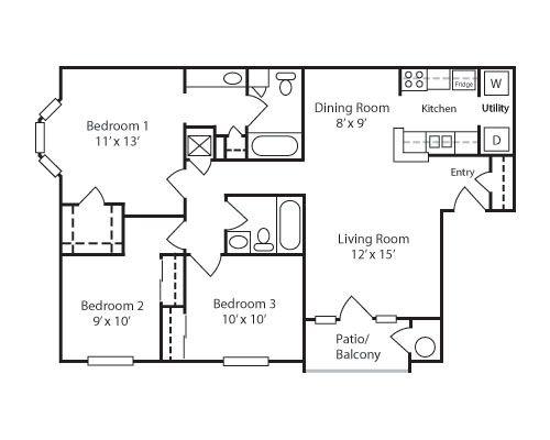 900 Sq Ft 3br 2ba House Plans House Plans Floor Plans Natural Building