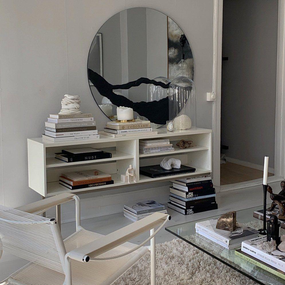 "Gabriella on Instagram: ""Got to many coffe tables-books? I do.... so I use them as table legs 🙌🏽 #creative #creativity #homeinterior #livingroominspo…"""
