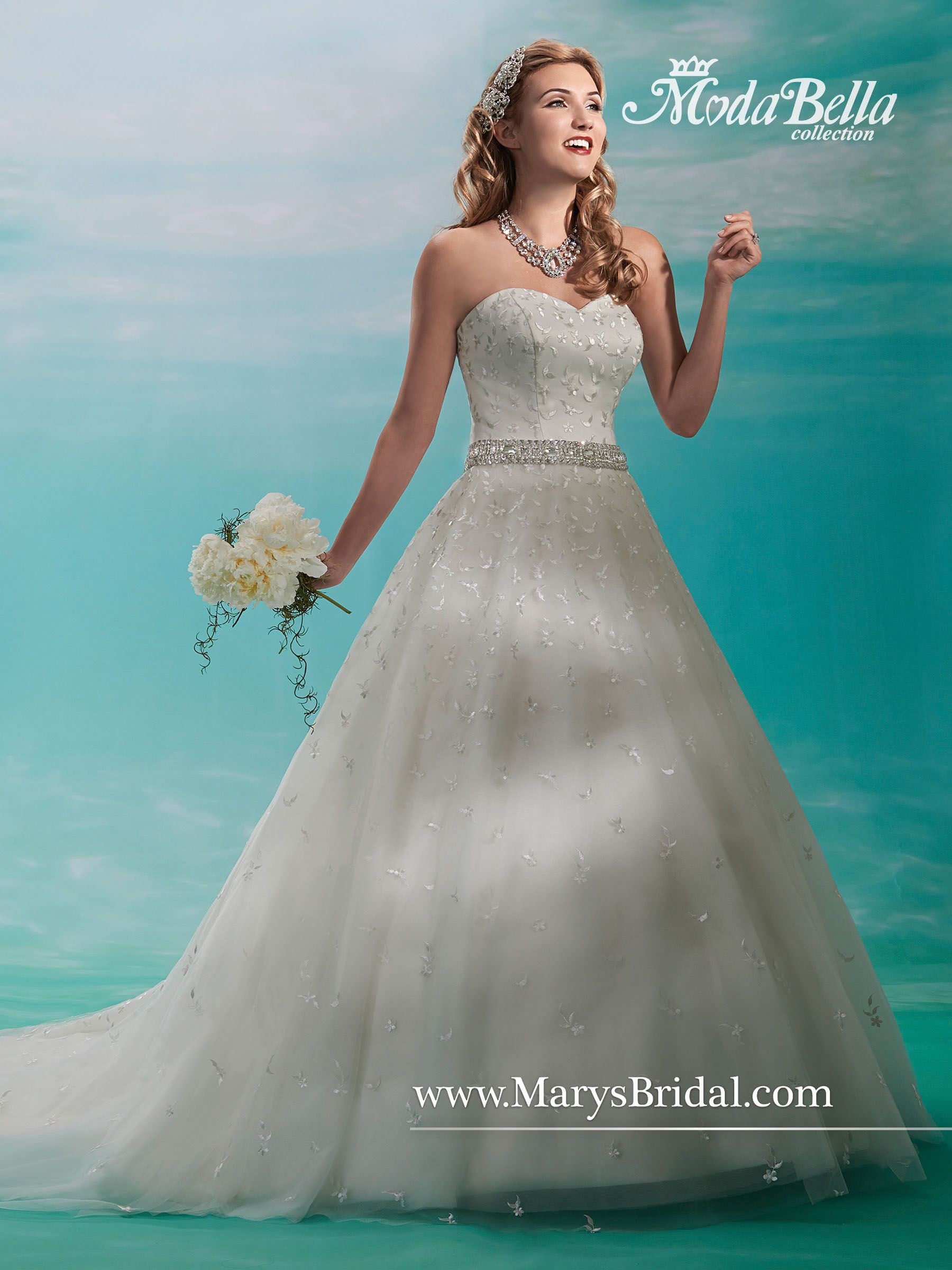 Mary\'s style ID 3Y374   Wedding dresses   Pinterest   Bridal gowns ...