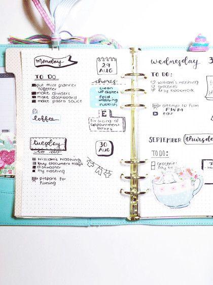 manche m gen es verspielt und zeichnen kleine bildchen in ihr bullet journal stylight life. Black Bedroom Furniture Sets. Home Design Ideas