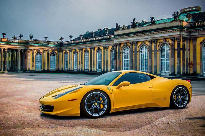 Ferrari 458 Sans Souci Castle