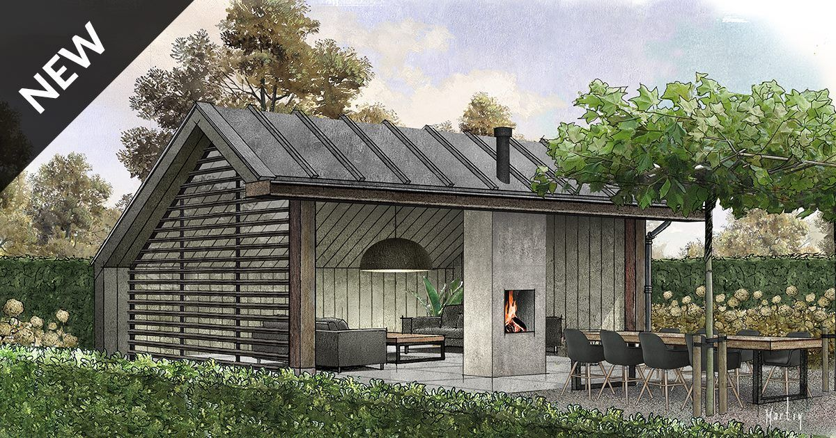 Bronckhorst buitenleven type gaev tuinhuis overdekt zitten - Baraque de jardin ...