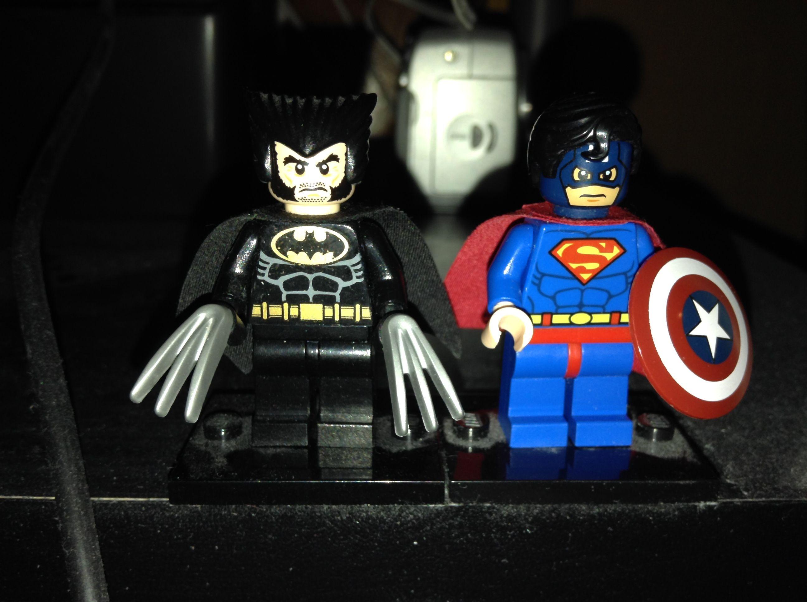 Dark Claw Amp Super Soldier Amalgam Comics Super Soldier