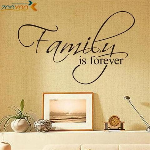 Home Decor Creative Wall Decals Quotes For Living Room \