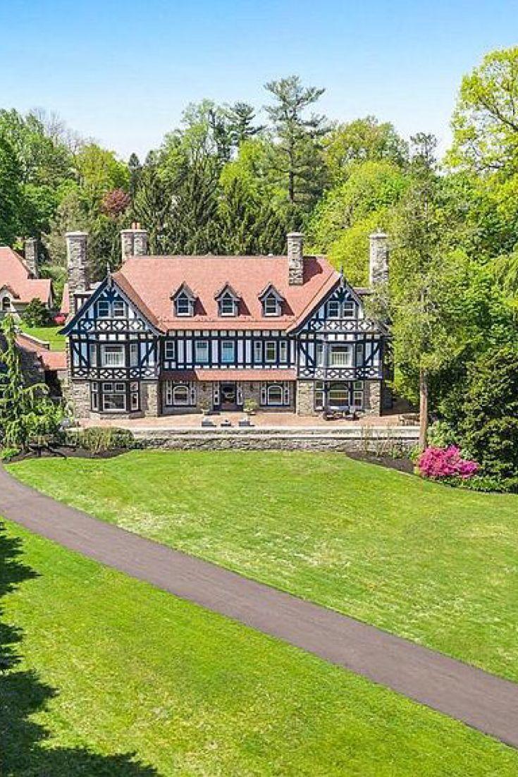 Photo of 1903 Tudor Revival For Sale In Saint Davids Pennsylvania — Captivating Houses