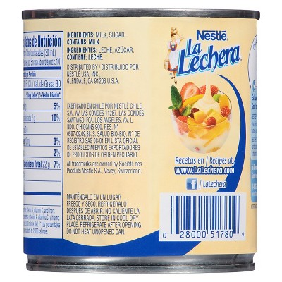 Photo of Nestle La Lechera 14 oz, Milk Substitutes
