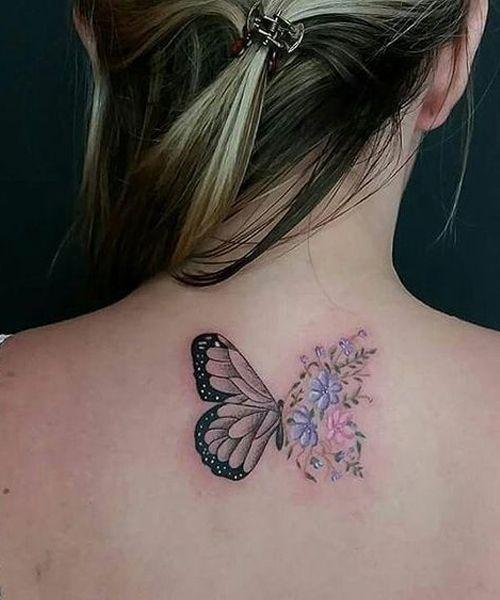 Tattoo Butterfly Tattoo Small Tattoo Back Tattoo Arm Tattoo Meaningful Tattoos Simple Tat Butterfly Tattoo Butterfly With Flowers Tattoo Beautiful Tattoos