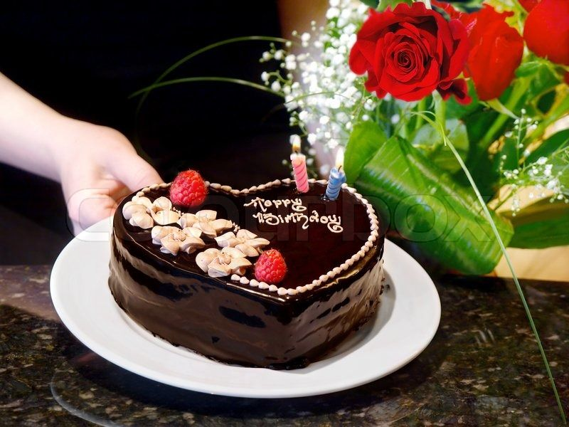 Happy Birthday Flower Cake Images Decoracion Pinterest Cake