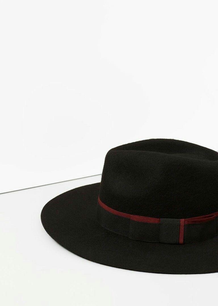 Wool Fedora Hat by Mango