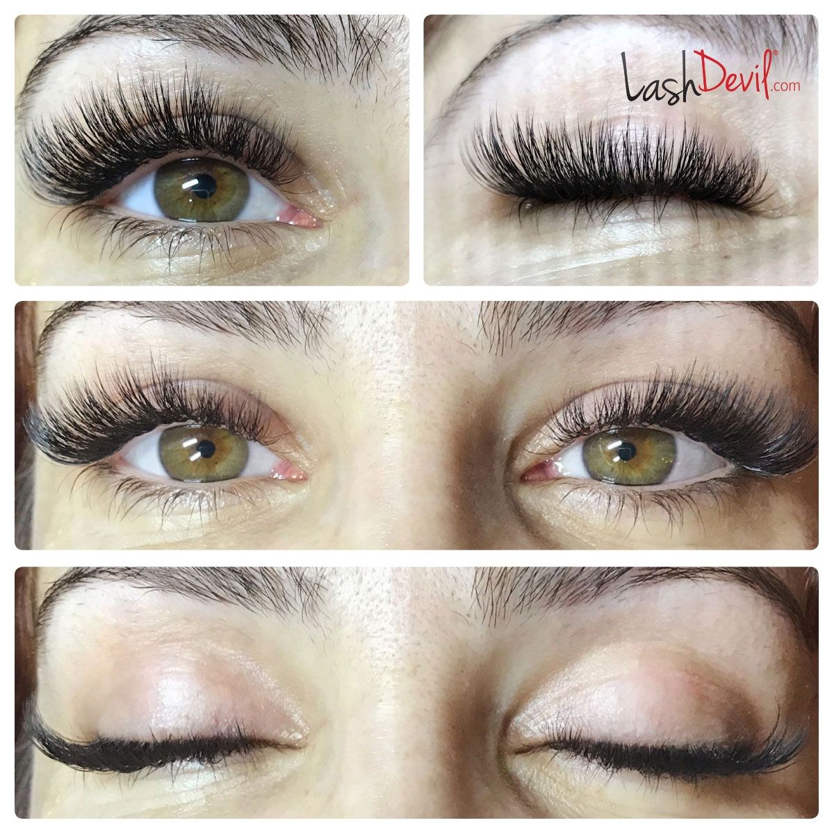 BEAUTIFUL EYELASH EXTENSIONS - BEFORE AND AFTER | b e a u t y ...