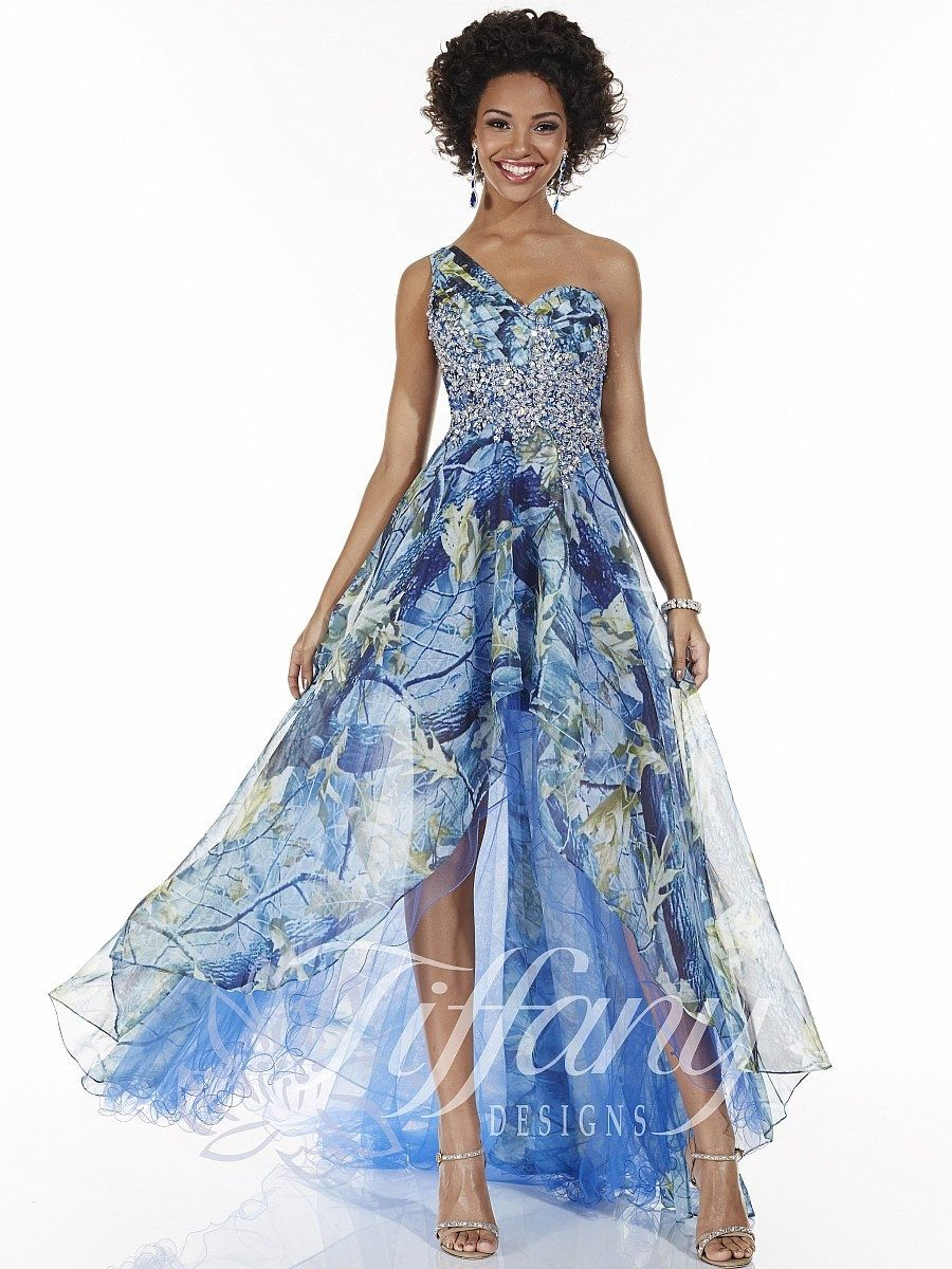 Tiffany Designs Prom Dress 16042 High Low - Everything4pageants ...