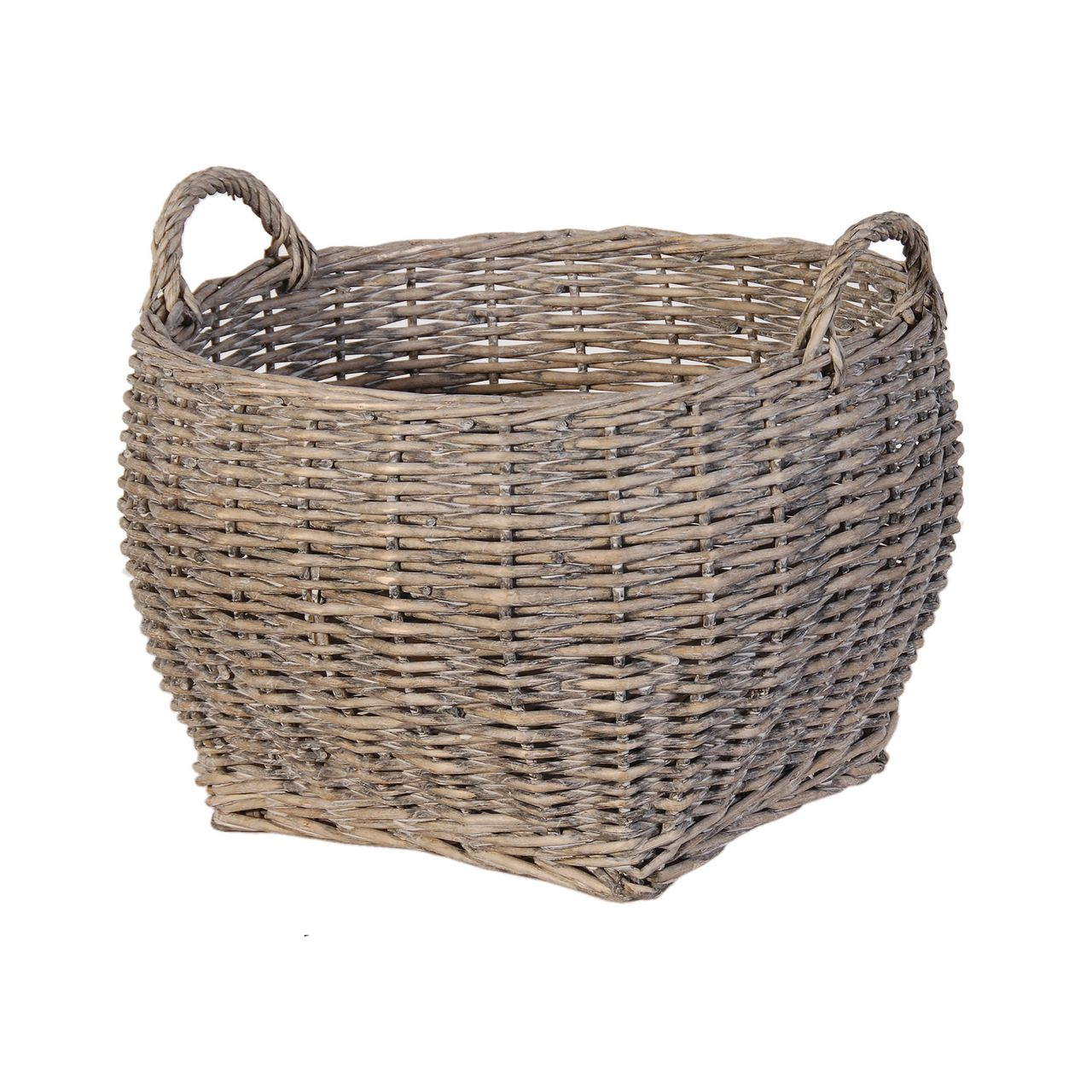 Drift Living Grey Wash Round Willow Basket 31 50 Http Driftliving Co Uk Grey Wash Round Willow Baske