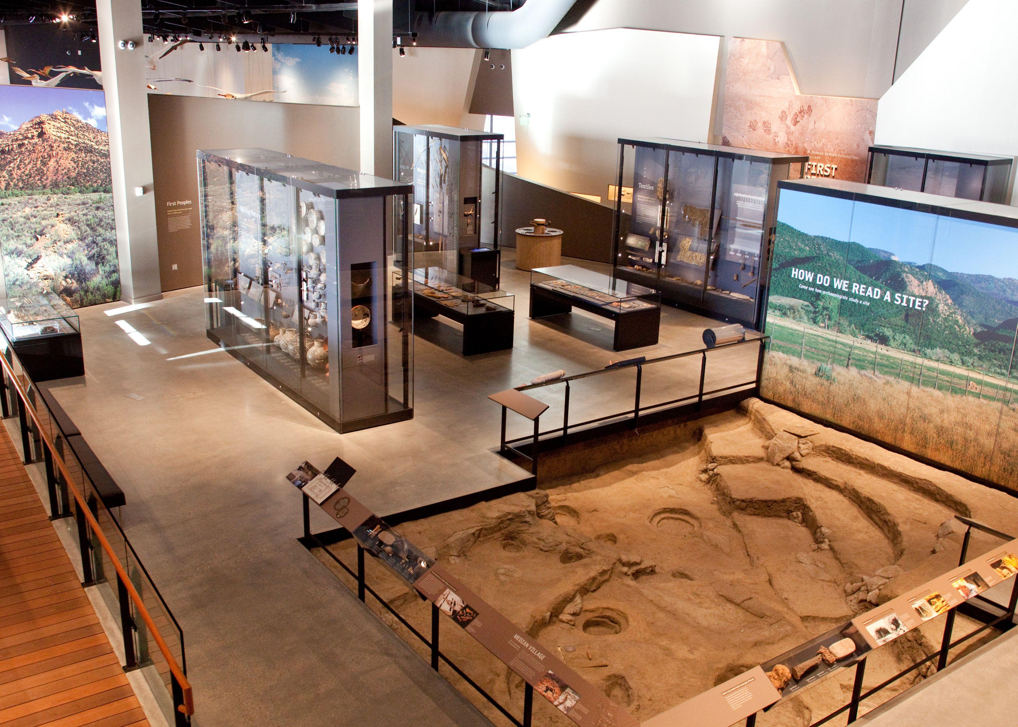 Natural history museum of utah in salt lake city photograph by