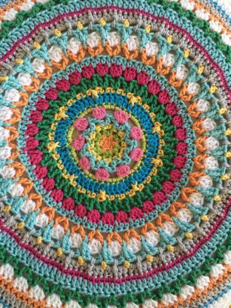 Crochet Mandala (2) | Mandala | Pinterest | Häkeln, Stricken und ...