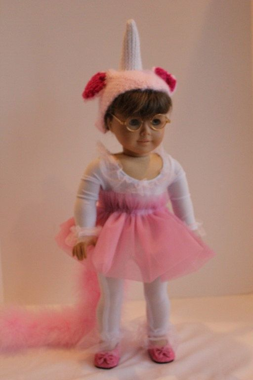 Enchanted Forest Unicorn 18-inch Doll Outfit by PrairieWindGirls