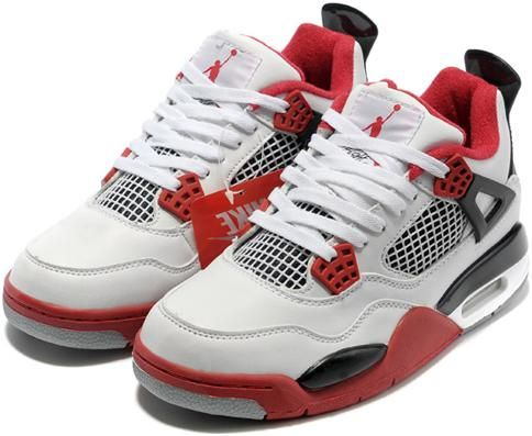 super popular 2f47c bb622 Nike Air Jordan 4 Womens Basketball Shoes White Red Black, cheap Womens  Basketball Shoes, If you want to look Nike Air Jordan 4 Womens Basketball  Shoes ...