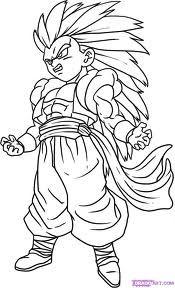 Desenhos De Pintar Dragon Ball Z Com Imagens Desenhos