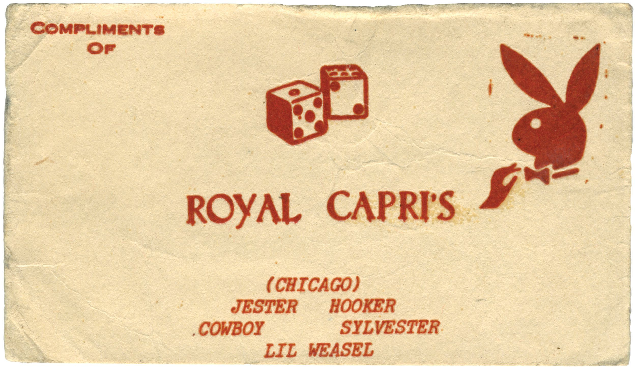 Masters in crime, killers of slime\': Chicago gang business cards ...