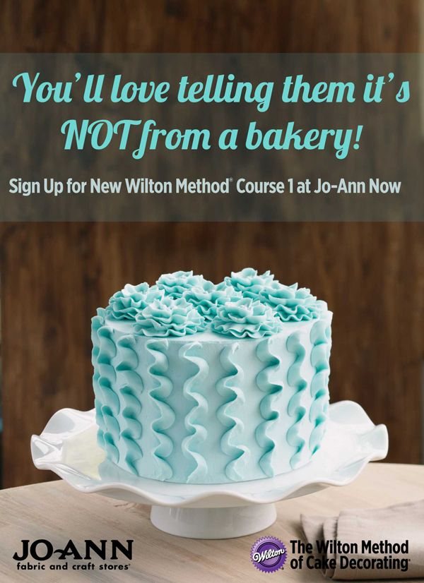 Crafting Classes – Find Jo-Ann Craft Classes  Cake decorating