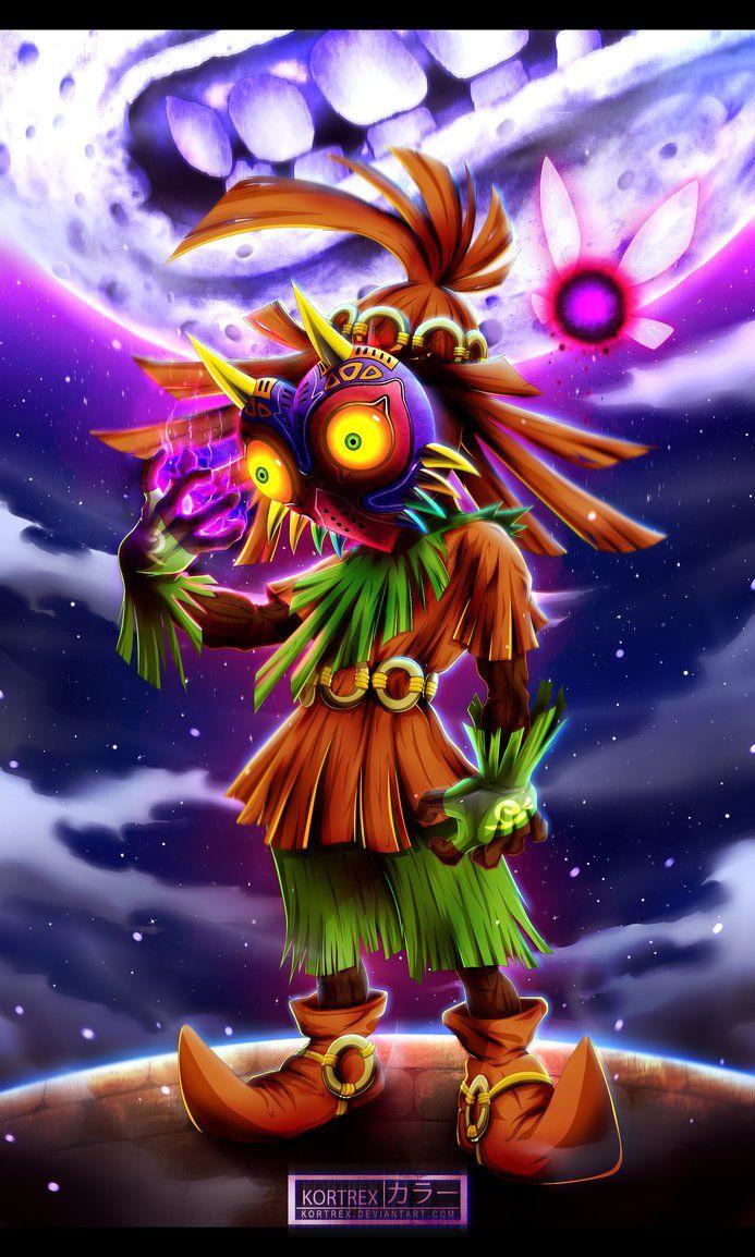 The Legend of Zelda - Majora's Mask by Kortrex on DeviantArt ...