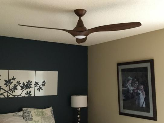 Home Decorators Collection Tidal Breeze 56 In Led Indoor Distressed Koa Ceiling Fan With Light K Ceiling Fan With Light Home Decorators Collection Ceiling Fan