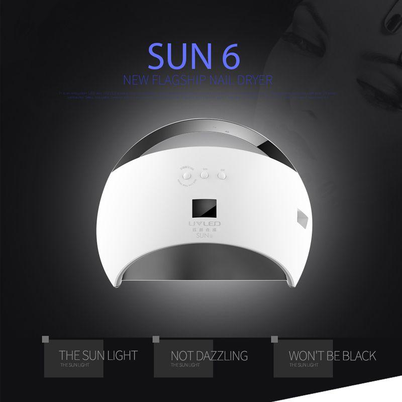 Sunuv Sun6 48w Nail Machine Uv Led Lamp Manicure Nail Dryer Lamp For