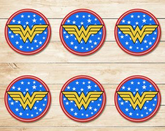 Wonder Woman Sticker Wonder Woman Inchies by ApothecaryTables