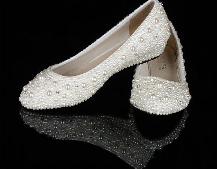Low Wedges Heels Wedding Shoe