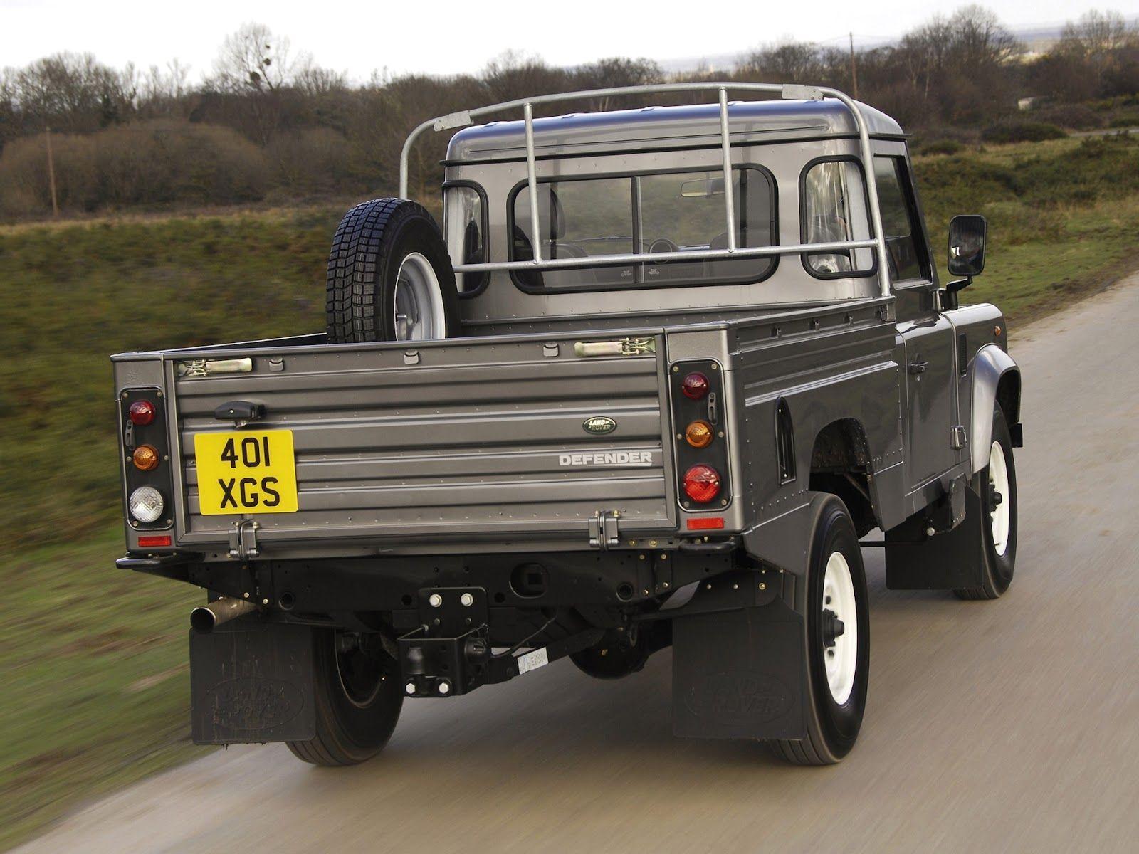 land rover defender pickup land rover defender pickup trucks pinterest land rover defender. Black Bedroom Furniture Sets. Home Design Ideas