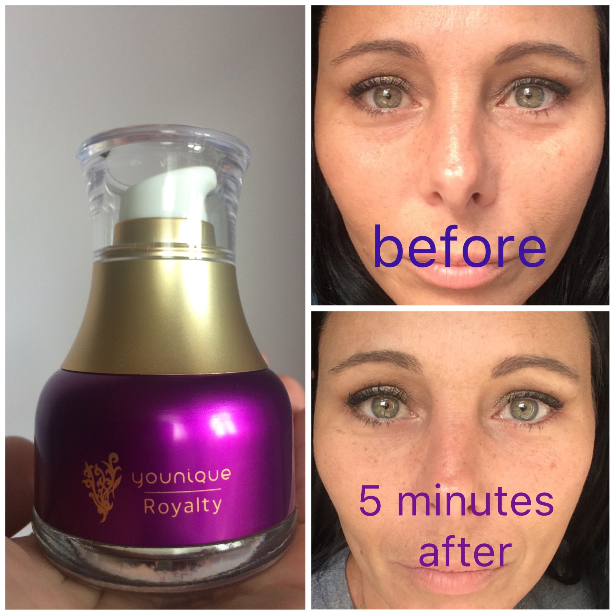 See ya later, bags! Younique INSTANT UPLIFT SERUM