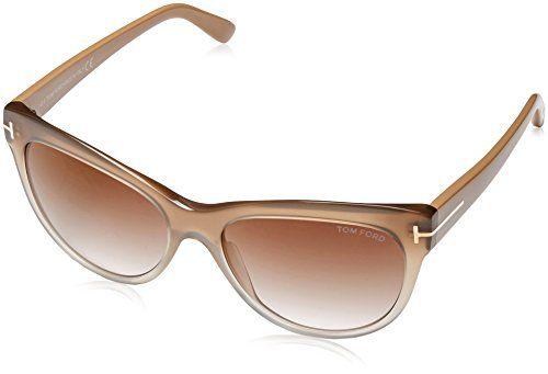8b5213e5c2897 Tom Ford Sunglasses TF 430 Lily 59G Beige Transparent 56mm - https   ift