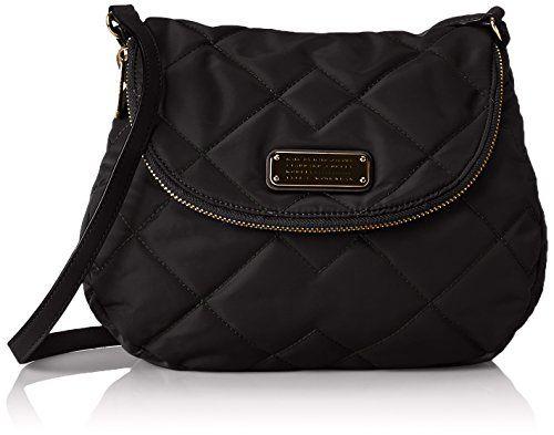 Marc by Marc Jacobs Crosby Quilt Nylon Natasha Cross Body Bag ... : marc jacobs black quilted bag - Adamdwight.com