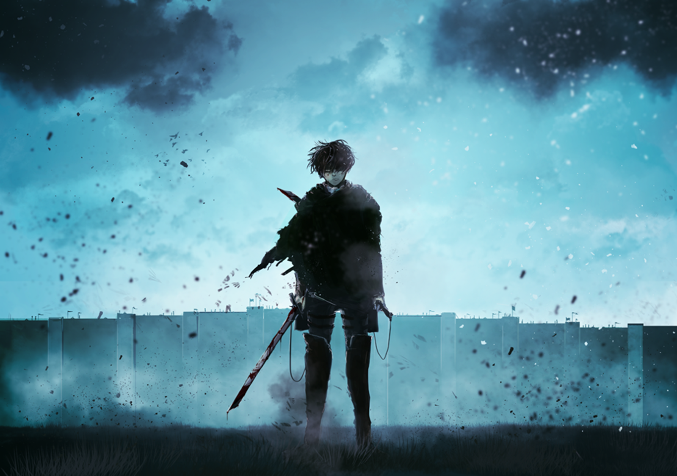 Levi Ackerman Computer Wallpapers Desktop Backgrounds 1366x962 Id 665354 Attack On Titan Attack On Titan Anime Attack On Titan Levi