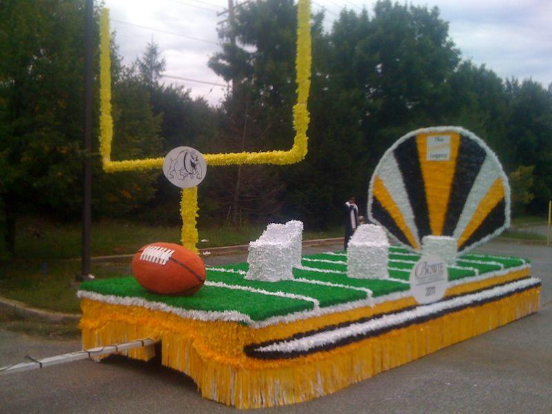 High School Parade Floats | Homecomings | Homecoming ...