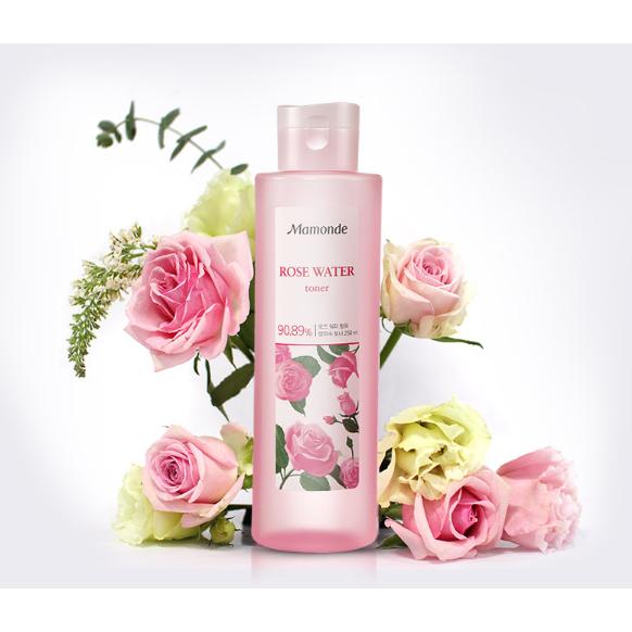Mamonde Rose Water Toner 250ml Rose water toner, Rose